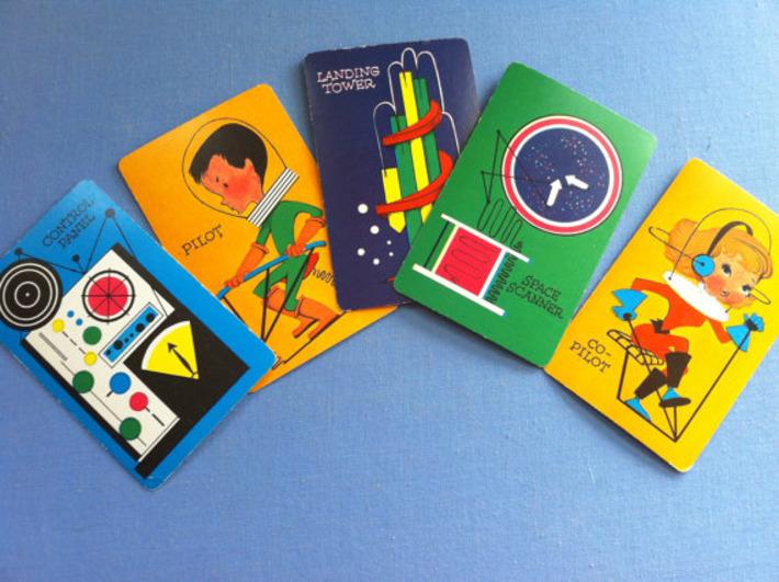 Fun Vintage MCM Child Card Game ORBIT | Kitsch | Scoop.it