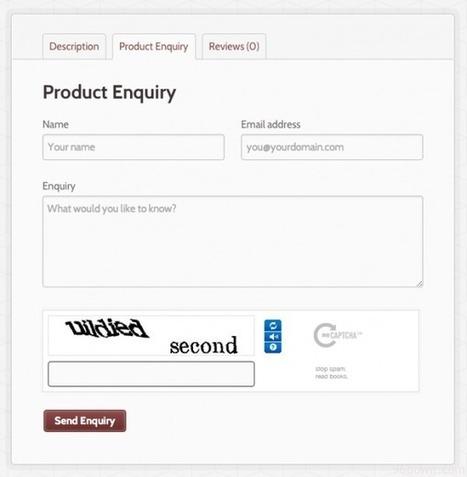 Woocommerce Product Enquiry Form | Download Free WordPress Theme, WordPress Plugin and Full Scripts. | martin | Scoop.it