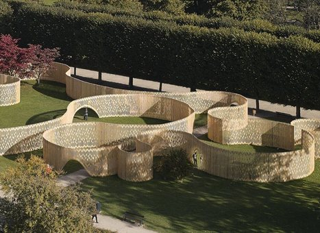 Trylletromler: An Innovative, Accessible Pavilion in Copenhagen | green streets | Scoop.it