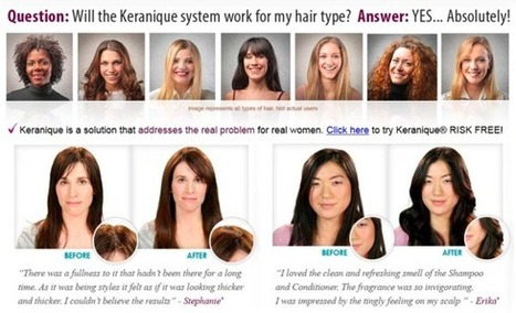 The attraction of keranique hair care products cuts across age barriers | KeraniqueScamReview | Scoop.it
