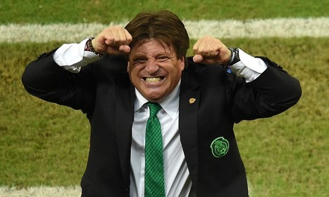 Miguel Herrera is the World Cup's feistiest coach - the Mexico manager is ... - Daily Mail   World Cup Video News   Scoop.it