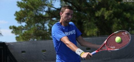 Connor Glennon Starting ITA All-American Main Draw Run Thursday - Memphis Official Athletic Site | University of Memphis men's tennis | Scoop.it