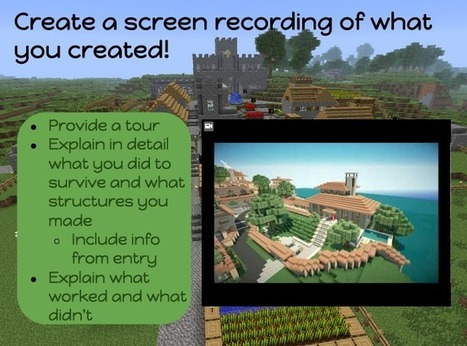 Journal Writing with Minecraft | Vic High Library - Dec. News for High School English Teachers | Scoop.it