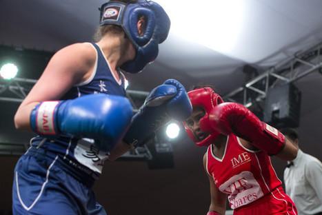 Hedge Fund Fight Puts Women in HK Boxing Ring - Businessweek | Women's Boxing | Scoop.it