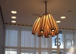 """Artistic Lighting Shades from """"Passion 4 Wood"""" 