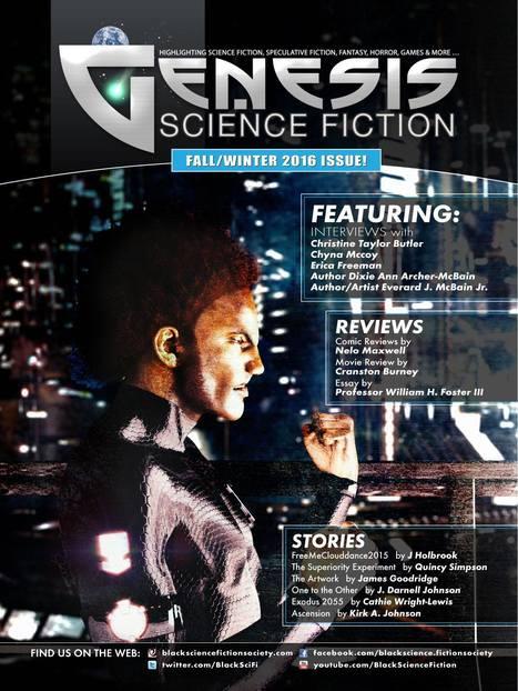 GENESIS SCIENCE FICTION MAGAZINE #8 ABOUT TO DROP! | BlackScienceFiction | Scoop.it
