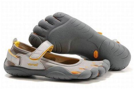 Vibram Five Fingers Sprint Lt.Grey/Yellow/Orange Men's | new style | Scoop.it