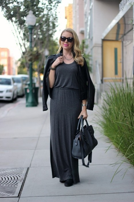 Fall Transition w/Maxi Dress | fashion | Scoop.it