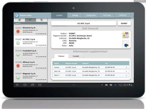 "MobilEASE Sales: i dati di vendita SAP su device mobili | L'impresa ""mobile"" | Scoop.it"