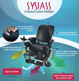 Actualité > Fauteuil roulant intelligent : les secrets du projet | 21st Century Innovative Technologies and Developments as also discoveries | Scoop.it