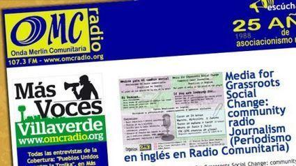 OMC Radio, radio comunitaria de Villaverde: Entrevista a José Ramón Planelles   Periodismo Ciudadano   Periodismo Ciudadano   Scoop.it