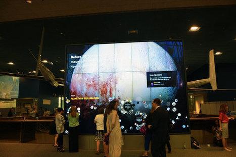 [ARTICLE CLIC] Le Muséum de l'Air et de l'Espace du Smithsonian dévoile son application mobile couplée à un écran géant | Clic France | Scoop.it