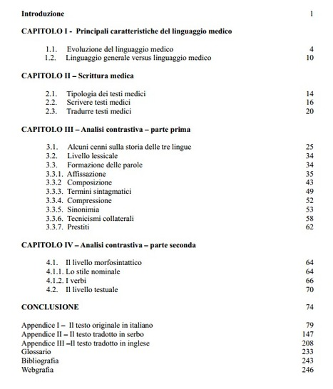 (SR) (IT) (EN) (PDF) - Il linguaggio medico | Google Drive | Glossarissimo! | Scoop.it