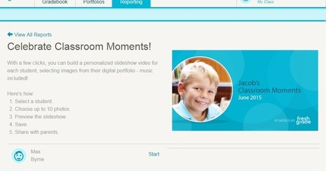 Free Technology for Teachers: FreshGrade Helps You Quickly Create Video Slideshows of Your Students' Best Work | Recursos Online | Scoop.it
