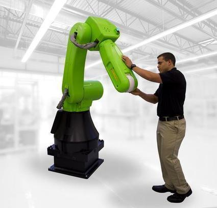 Design News - Blog - Fanuc Enters Collaborative Robot Fray with 35-kg Model | Des robots et des drones | Scoop.it