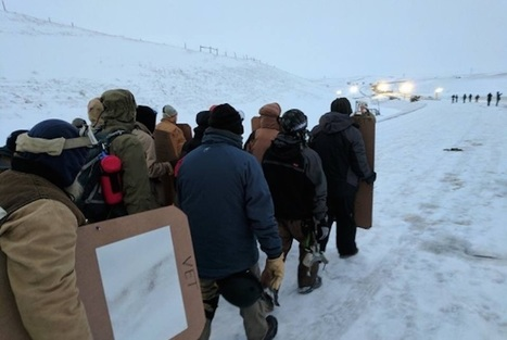 2,000 Veterans Just Arrived at Standing Rock to Form Human Shield Around Protestors - Good News Network | This Gives Me Hope | Scoop.it