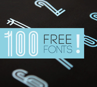 100 Greatest Free Fonts Collection for 2012 | mutimedia culture et lien social | Scoop.it