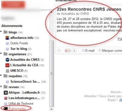 Tutoriel : Google Reader, veille avec les flux RSS | François Magnan - Formateur Consultant | Trucs&Astuces : veille2.0 | Scoop.it