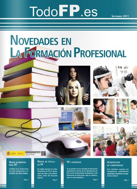 Portal Todo FP Novedades en Formación Profesional | Formación en red en FP | Scoop.it