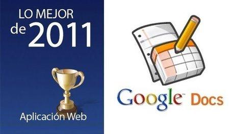 Mejor aplicación web de 2011: Google Docs | formació professorat universitari | Scoop.it