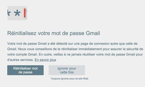 L'extension Chrome Alerte mot de passe de Google vous protège contre le phishing - #Arobasenet.com | Référencement internet | Scoop.it