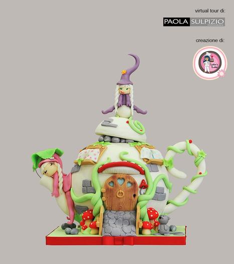 """Lalla's Cake utilizza i virtual tour di Paola Sulpizio per mostrare le sue creazioni a 360° - torta """"Teiera""""   Fotografia news   Scoop.it"""
