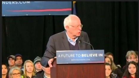 A remarkably moving thing happened at a Bernie Sanders rally today in Iowa | Bernie Sanders' Campaign | Scoop.it