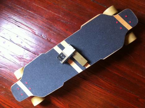 DIY 23mph+ electric skateboard   News we like   Scoop.it