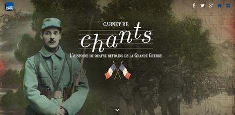 Grande Guerre interactive #5 : les projets de Radio France | Nos Racines | Scoop.it