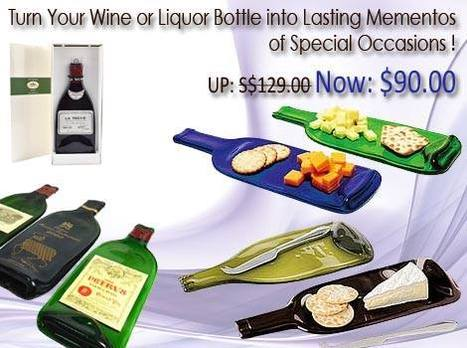 Turn Your Wine or Liquor Bottle into Lasting Mementos of Special Occasions! | The Oaks Cellars | Scoop.it