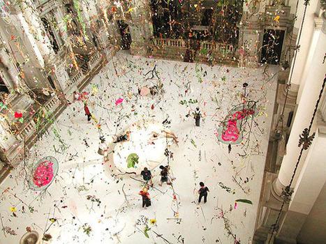 The Water Hole by Gerda Steiner and Jörg Lenzlinger   Art Installations, Sculpture, Contemporary Art   Scoop.it