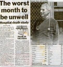 Wednesday in hospital fatal mistake | Medical Error Action Group | OHS 11026 Quest to Becoming a Paramedic | Scoop.it
