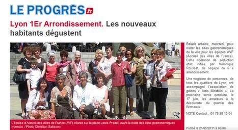 Lyon 1er arrondissement, les nouveaux habitants dégustent | mai 2011 | Le Progrès | ARTIS MIRABILIS : toute la revue de presse | Scoop.it