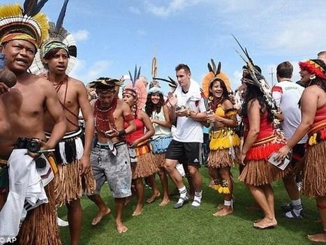Thổ dân Brazil vào sân quẩy tưng bừng cùng ĐT Đức | Giao duc | Scoop.it