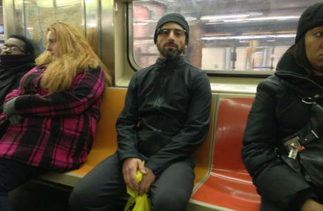 Sergey Brin se pasea por el metro de Nueva York con las gafas Project Glass - elEconomista.es   Marketing Móvil Nacional   Scoop.it