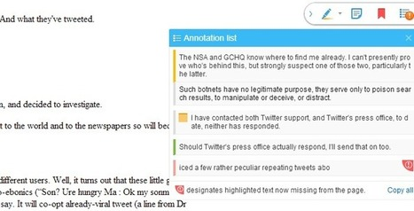 Diigo Web Collector - Capture and Annotate | Transformational Teaching and Technology | Scoop.it