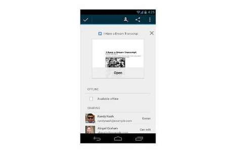 Google Drive for Android gets a nifty update | Using Google Drive in the classroom | Scoop.it