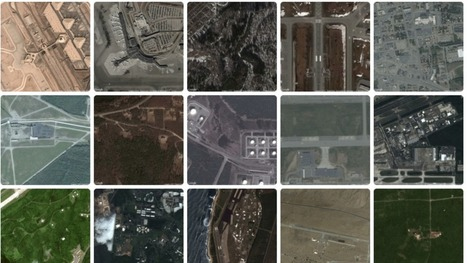 The Chilling Geometry of Every US Military Base Seen From Space | geospatial technologies | Scoop.it