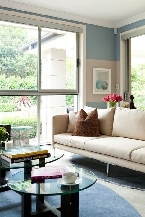 Cream and Blue-Hued Rooms: Ideas and Inspiration | Designing Interiors | Scoop.it