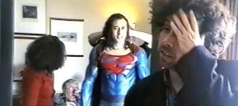 TIM BURTON & NICK CAGE's SUPERMAN LIVES Screenwriter Reveals 'Our Superman Was in Therapy' | Geek Therapy | Scoop.it