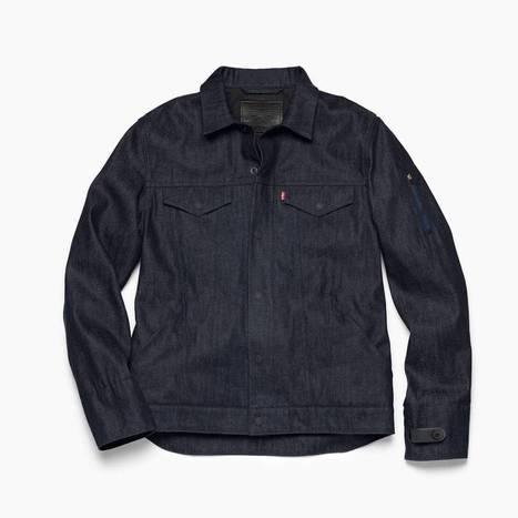 Google et Levi's présentent la première veste en jean intelligente | les échos du net | Scoop.it