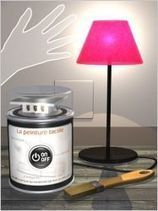 Une peinture tactile fait office d'interrupteur | L'Etablisienne, un atelier pour créer, fabriquer, rénover, personnaliser... | Scoop.it