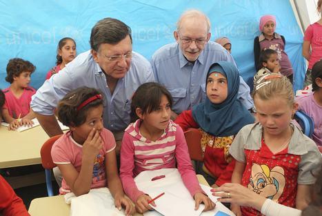 L'UE accorde 4,6 millions d'euros à l'Unicef pour scolariser les enfants syriens réfugiés en Jordanie | L'enseignement dans tous ses états. | Scoop.it
