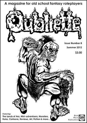 'Oubliette 8' est disponible | Jeux de Rôle | Scoop.it