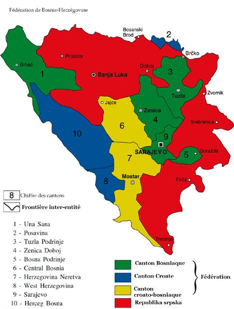 L'impact de la frontière inter-entité de la Bosnie-Herzégovine sur les relations intercommunautaires à l'échelle locale (mémoire) | Géographie des Balkans | Scoop.it