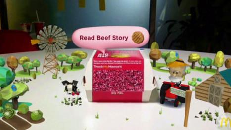 McDonald's : réalité augmentée et traçabilité du steak   Réalité augmentée (augmented reality)   Scoop.it