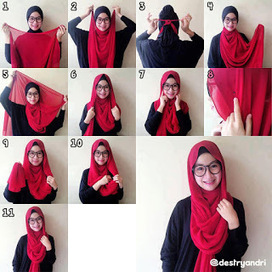 Digital Posting: Tutorial Hijab Modern (Cara Memakai Jilbab Paris) Trend 2014 | Tutorial Hijab Modern (Cara Memakai Jilbab Paris) Trend 2014 | Scoop.it