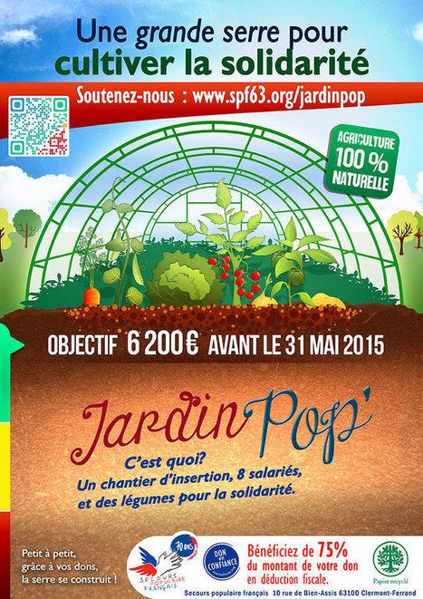 Le Jardin Pop' impulsé par 4 étudiants en Master Communication et solidarité ! | Initiatives originales | Scoop.it