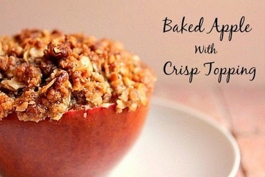 Bunny's Warm Oven: Baked Apple with Crisp Topping | Bunny's Warm Oven | Scoop.it