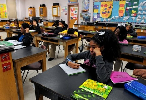 A therapist goes to middle school and tries to sit still and focus. She can't. Neither can the kids. | Valarie Strauss | WashPost.com | Library world, new trends, technologies | Scoop.it
